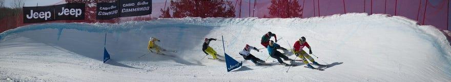 Aspen, Co - 29 janvier : action grande pendant un elimina Photo stock