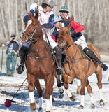 Aspen, CO - Dec 18: Unknown riders at the USPA Wor Royalty Free Stock Images