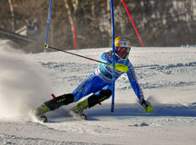 Aspen, CO - Nov 27:Emelie Wikstroem at the Audi Qu Stock Photography