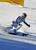 Aspen, CO - Nov 27: Maria Hoefl-Riesch at the Audi Royalty Free Stock Photo