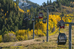 Aspen Ski Lift Stock Photo