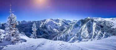 Aspen Snowmass, κοβάλτιο στοκ φωτογραφία