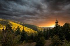 Aspen Vista Overlook imagen de archivo