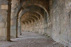 aspendos amfiteatrze obrazy stock