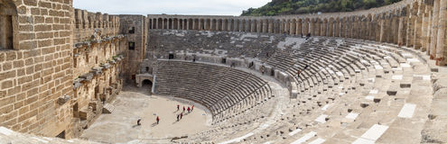 Aspendos Amphitheater View Royalty Free Stock Images