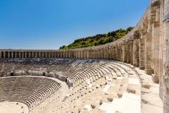 Aspendos Amphitheatre Antalya Stock Photo