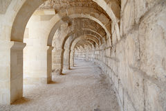 Aspendos Ancient City View Royalty Free Stock Photography