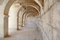 Aspendos Antycznego miasta widok Fotografia Royalty Free