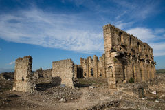 Aspendos ruins Stock Photography