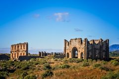 Aspendos ruiny w Turcja fotografia stock