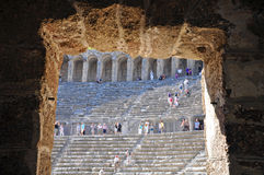 Aspendos terraces Royalty Free Stock Photo