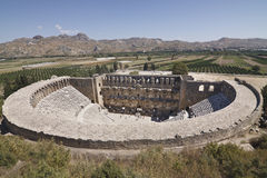 Aspendos theatre Stock Photography