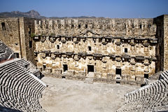 Aspendos Turkey Royalty Free Stock Photo