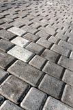 asper Плитка тротуар серо перспектива Стоковые Фотографии RF