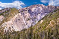Aspereza de la montaña foto de archivo