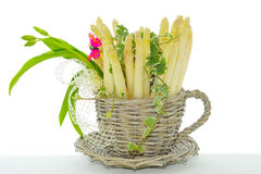 Asperge blanche Images stock