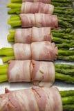 Asperge met bacon Royalty-vrije Stock Afbeeldingen