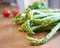 Asperge verte fraîche Photos stock