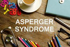 Asperger syndrom royaltyfri foto