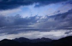 Asperitas cloud, Tivat, Montenegro. Stock Photo