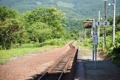 Aspettando il mio treno per venire Fotografia Stock Libera da Diritti