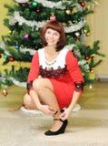 Aspettando il nuovo anno Fotografie Stock