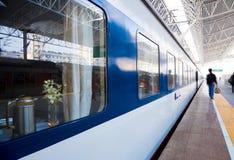 Stazione ferroviaria in porcellana Immagini Stock Libere da Diritti