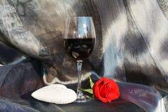Aspettativa romantica Fotografia Stock Libera da Diritti