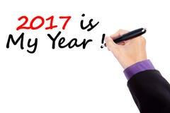 Aspettative nel 2017 Immagine Stock