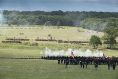 Aspetti per la guerra a Gettysburg Fotografia Stock