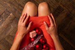 Aspetti per tempo di Natale Fotografia Stock Libera da Diritti