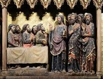 Aspetto agli apostoli nell'Ascensione fotografia stock libera da diritti
