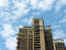 Aspetto degli edifici residenziali urbani immagini stock