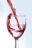 ASPglass de wine1.jpg Fotos de Stock Royalty Free