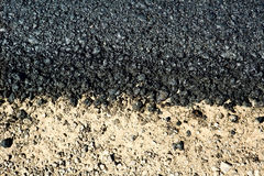 Asphalt Royalty Free Stock Photo