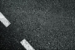 Asphalt. With a white strip. A background Royalty Free Stock Image