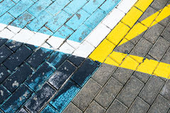 Asphalt abstract Royalty Free Stock Images