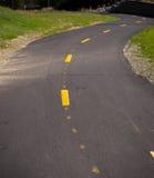 Asphalt Bike Path Lizenzfreie Stockbilder