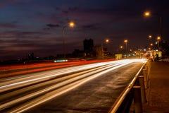 Asphalt, Blur, Bridge Royalty Free Stock Photography