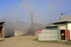 Asphalt Concrete Plant Stock Image