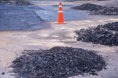 Asphalt in Construction Division Stock Photos