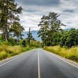 Asphalt country road Stock Photos