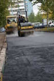 Asphalt covering Stock Photography