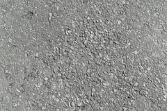Asphalt, der Wege pflastert Graue Farbe des Asphalts mit kleinen Kieseln Stockbild