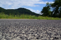 Asphalt detail Royalty Free Stock Photo