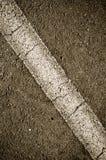 Asphalt with Diagonal Line Stock Photos