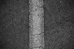 Asphalt Divided Line Royalty Free Stock Photo