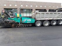 Asphalt Driveway, reparación del estacionamiento Fotografía de archivo