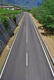 Asphalt highway Stock Images