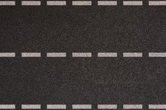 Asphalt highway with road markings royalty free stock images